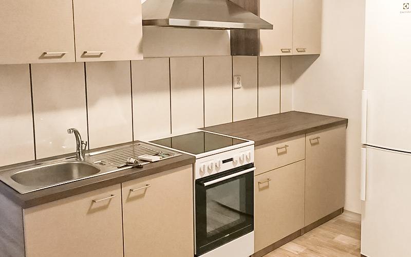 Ubytovna Milovice, levné ubytování vybavení kuchyňka