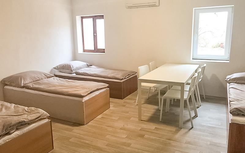 Ubytovna Milovice, levné ubytování vybavení