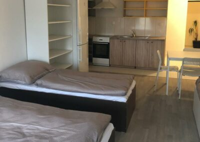 Ubytovna Milovice - Pod Liškami - levné ubytování - pokoje