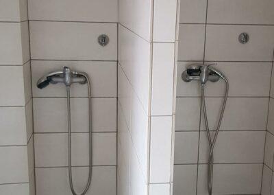 Ubytovna Milovice - Pod Liškami - levné ubytování - sprchy